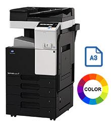 Impresora multifuncional konica minolta modelo bizhub c227 en Iberica de duplicadoras
