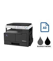 Impresora multifuncional konica minolta modelo bizhub 185 en Iberica de duplicadoras