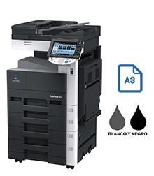 Impresora multifuncional konica minolta modelo bizhub 223 en Iberica de duplicadoras