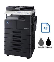 Impresora multifuncional konica minolta modelo bizhub 226 en Iberica de duplicadoras