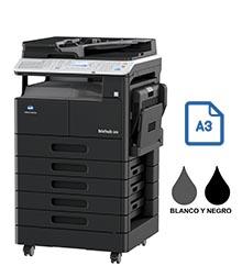 Impresora multifuncional konica minolta modelo bizhub 306 en Iberica de duplicadoras