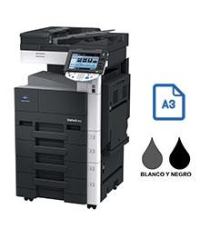 Impresora multifuncional konica minolta modelo bizhub 363 en Iberica de duplicadoras