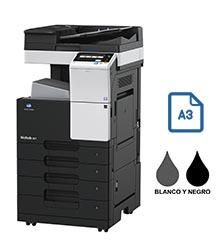 Impresora multifuncional konica minolta modelo bizhub 367 en Iberica de duplicadoras