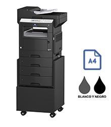 Impresora multifuncional konica minolta modelo bizhub 4020 en Iberica de duplicadoras