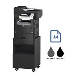 Impresora multifuncional konica minolta modelo bizhub 4050 en Iberica de duplicadoras