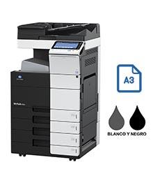 Impresora multifuncional konica minolta modelo bizhub 454e en Iberica de duplicadoras