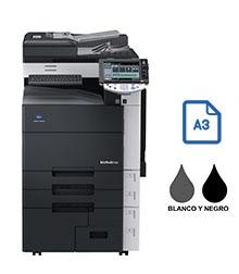 Impresora multifuncional konica minolta modelo bizhub 552 en Iberica de duplicadoras