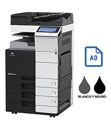 Impresora multifuncional konica minolta modelo bizhub 554e en Iberica de duplicadoras