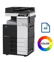 Impresora multifuncional konica minolta modelo bizhub c258 en Iberica de duplicadoras