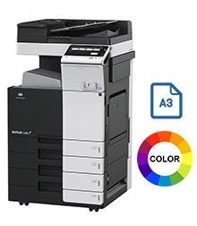 Impresora multifuncional konica minolta modelo bizhub c308 en Iberica de duplicadoras