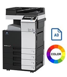 Impresora multifuncional konica minolta modelo bizhub C368 en Iberica de duplicadoras