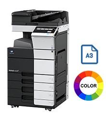 Impresora multifuncional konica minolta modelo bizhub c458 en Iberica de duplicadoras