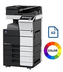 Impresora multifuncional konica minolta modelo bizhub c558 en Iberica de duplicadoras