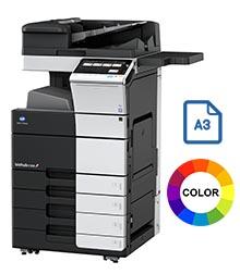 Impresora multifuncional konica minolta modelo bizhub c658 en Iberica de duplicadoras