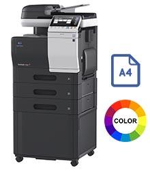 Impresora multifuncional konica minolta modelo bizhub c3350 en Iberica de duplicadoras