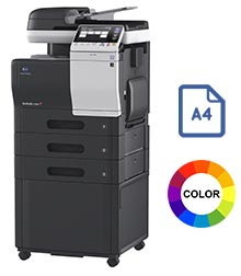 Impresora multifuncional konica minolta modelo bizhub c3850 en Iberica de duplicadoras