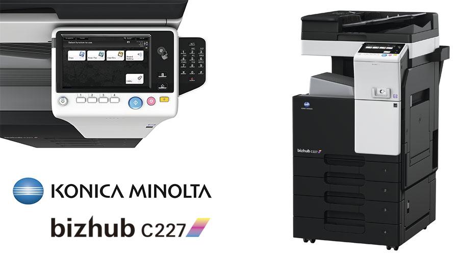 Impresora multifunción Konica Minolta Bithub C227. Distribuidor oficial de Konica Minolta en la Comunidad de Madrid, Ibérica de Duplicadoras