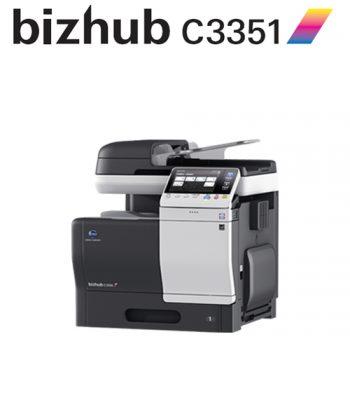 Impresora multifunción Konica Minolta Bizhub C3351, novedad en Ibérica de Duplicadoras, distribuidor de la Comunidad de Madrid