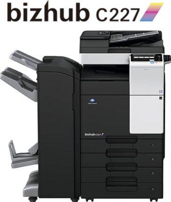 Impresora multifunción Konica Minolta Bizhub C227, novedad en Ibérica de Duplicadoras, distribuidor de la Comunidad de Madrid