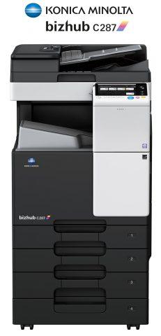 Impresora y fotocopiadora Konica minolta modelo bizhub c287 en Ibéricas de duplicadoras