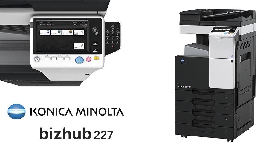 Impresora multifunción Konica Minolta Bithub 227. Distribuidor oficial de Konica Minolta en la Comunidad de Madrid, Ibérica de Duplicadoras