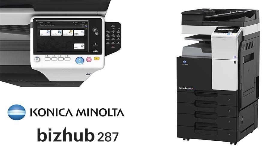 Impresora multifunción Konica Minolta Bithub 287. Distribuidor oficial de Konica Minolta en la Comunidad de Madrid, Ibérica de Duplicadoras