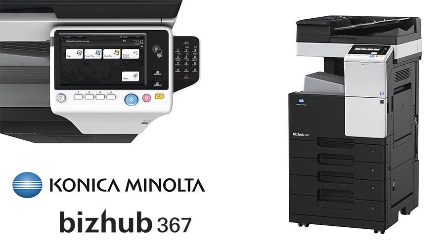 Impresora multifunción Konica Minolta Bithub 367. Distribuidor oficial de Konica Minolta en la Comunidad de Madrid, Ibérica de Duplicadoras