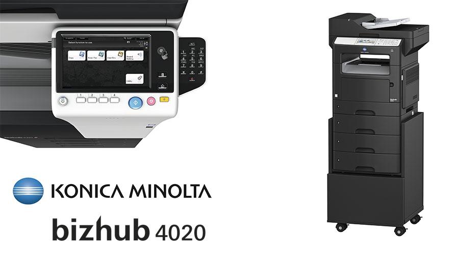 Impresora multifunción Konica Minolta Bithub 4020. Distribuidor oficial de Konica Minolta en la Comunidad de Madrid, Ibérica de Duplicadoras