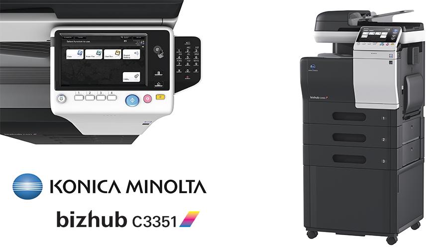 Impresora multifunción Konica Minolta Bithub C3351. Distribuidor oficial de Konica Minolta en la Comunidad de Madrid, Ibérica de Duplicadoras
