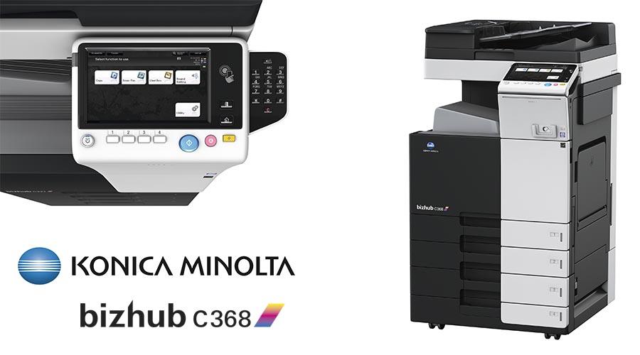 Impresora multifunción Konica Minolta Bithub C368. Distribuidor oficial de Konica Minolta en la Comunidad de Madrid, Ibérica de Duplicadoras