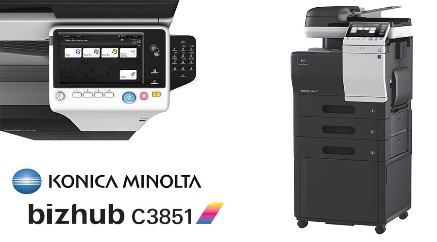 Impresora multifunción Konica Minolta Bithub C3851. Distribuidor oficial de Konica Minolta en la Comunidad de Madrid, Ibérica de Duplicadoras