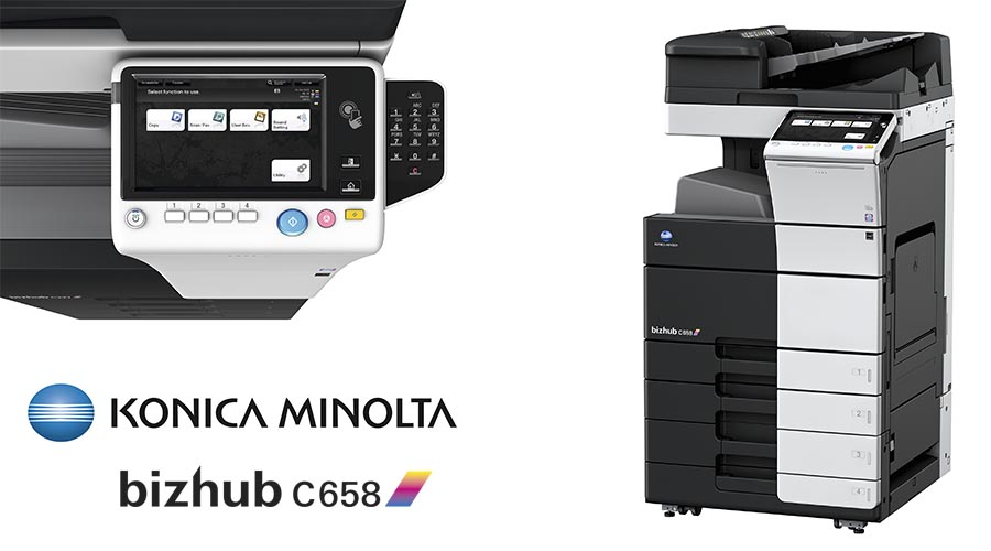 Impresora multifunción Konica Minolta Bithub C658. Distribuidor oficial de Konica Minolta en la Comunidad de Madrid, Ibérica de Duplicadoras