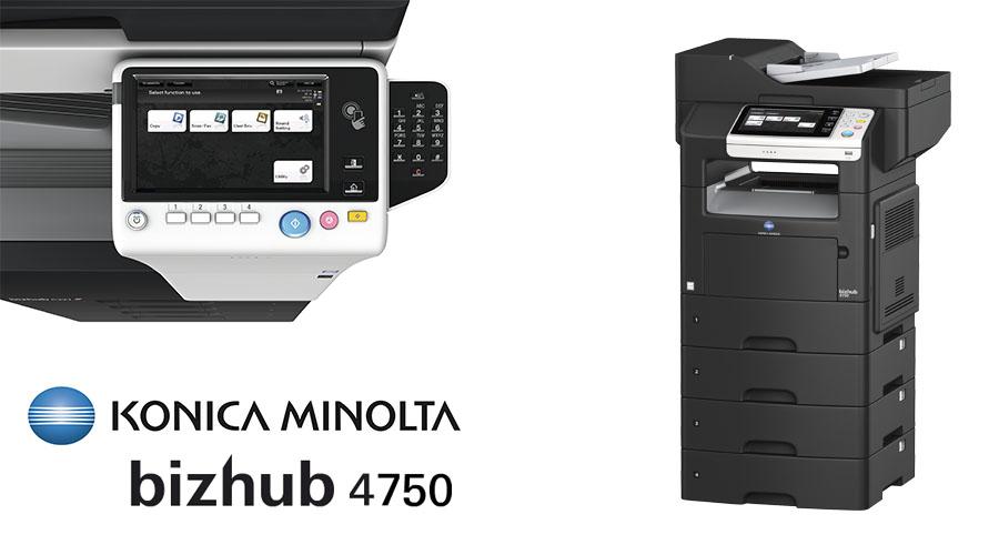 Konica Minolta Bizhub 4750 MFP PostScript Drivers Mac